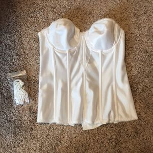 White corset, like new